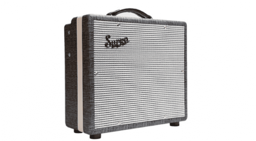 "Supro 1600 Supreme Rolling Stones 1x10"" 25watts tone volume preamp tube valve Keith Richards"