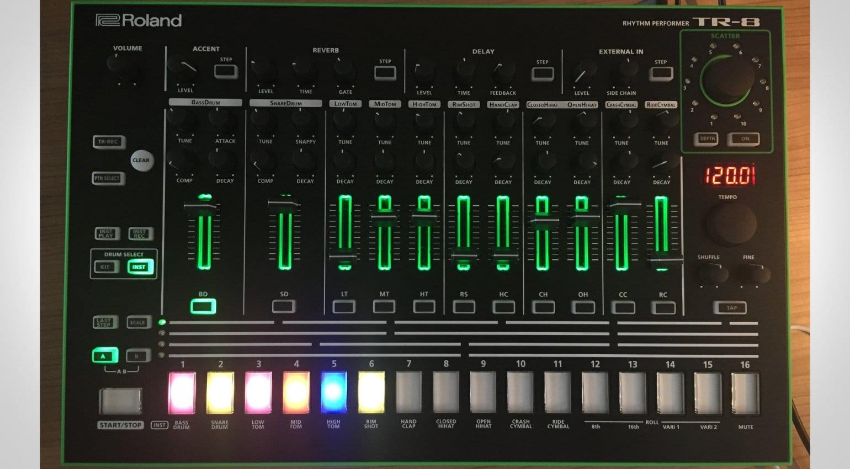 roland tr 8 update arrives with drumatix tr 606 sounds. Black Bedroom Furniture Sets. Home Design Ideas