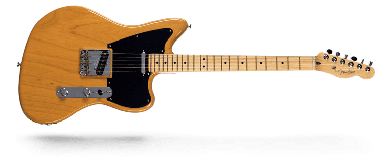 Make'nMusic Limited Run Fender Telecaster Offset Telecaster Butterscotch Blonde Swamp Ash Maple