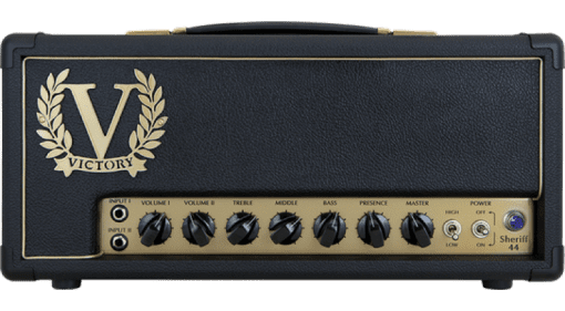 Victory Sheriff 44 amp head dual channel EL24 based Plexi style head