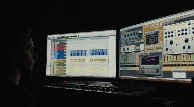Using Pro Tools in making the music for DOOM