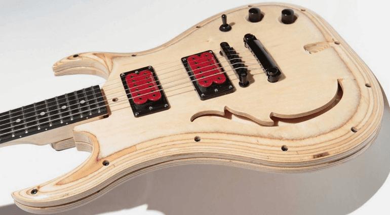 Evolution Guitars new 'modular' guitar at Summer NAMM