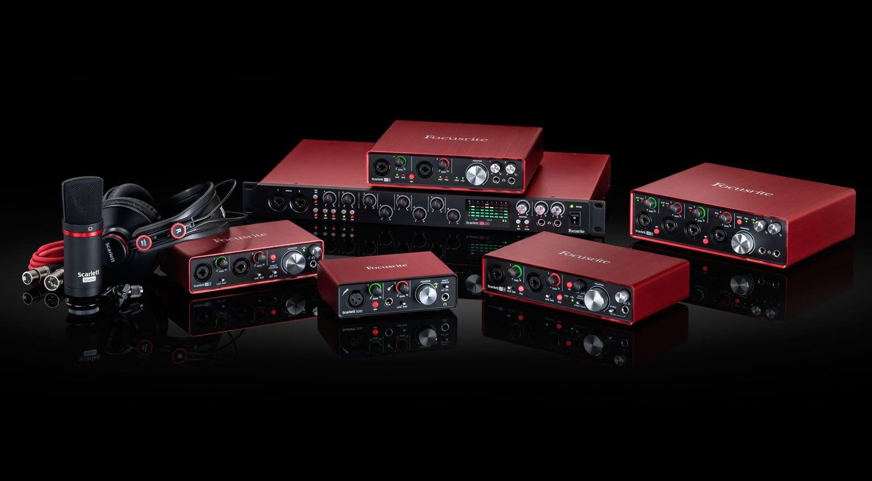 Top 5 audio interfaces by Focusrite, Roland, UAD, Presonus, Antelope