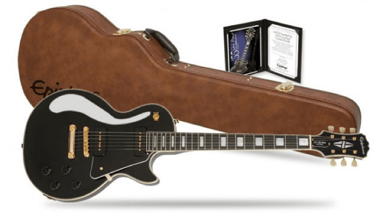 New Epiphone range for NAMM Summer 2016 Les Paul Custom 1955