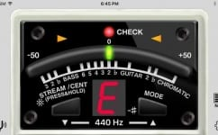 Free Boss TU-3 Tuner iTunes Guitar Bass Google Play App Stores
