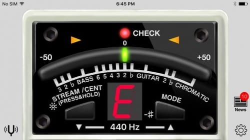 Free Boss TU-3 Tuner iTunes Guitar Bass Google Play App Stores
