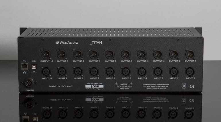 WesAudio Titan Back