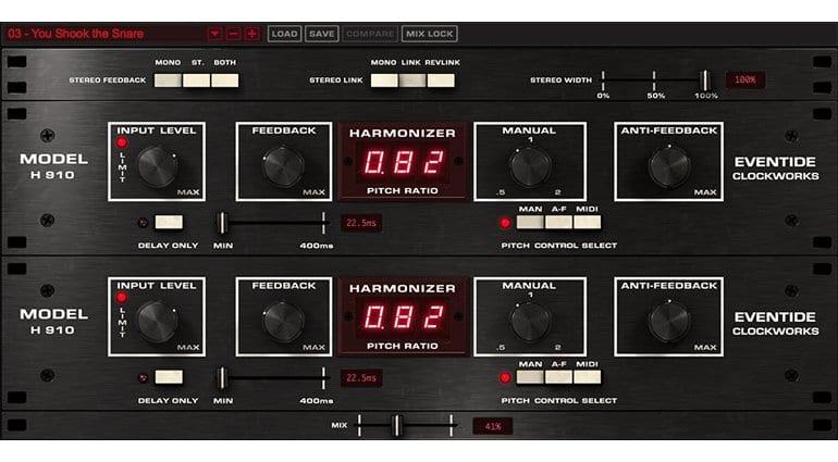 Eventide H910 Harmonizer Dual Plugin