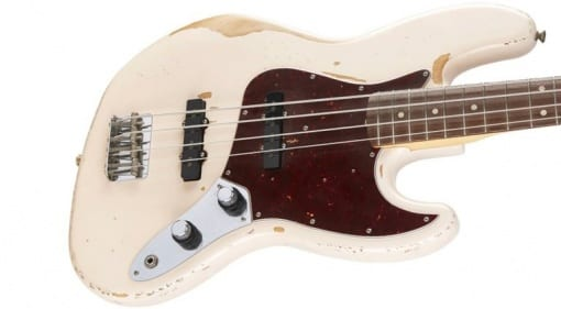 Fender Flea Signature Jazz Bass Shell Pink Road Worn '61 RHCP Red Hot Chili Pepper Stadium Arcadium