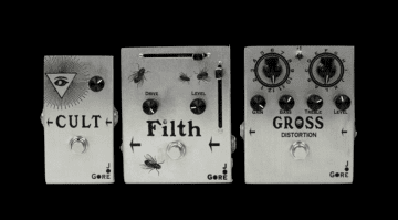 Joe Gore Pedals Cult Filth Gross Fuzz Distortion boutique Pedals USA Drive