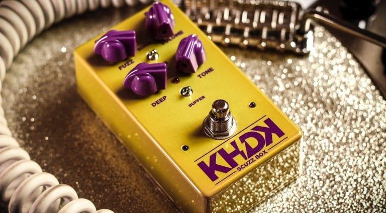 Metallica Kirk Hammett KHDK Electronics Scuzz Box