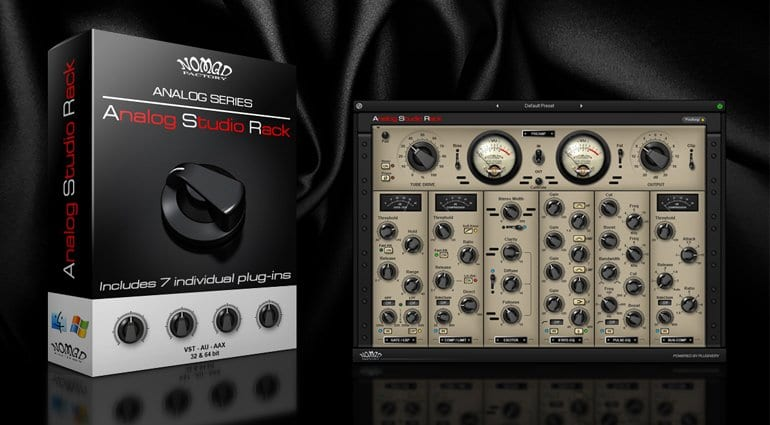 Nomad Factory release Analog Studio Rack - gearnews com