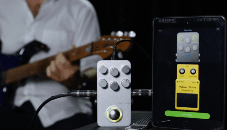 Hotlone XTOMP pedal iOS Android App Bluetooth Apple
