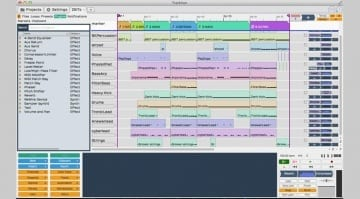 Tracktion T5 DAW Screenshot