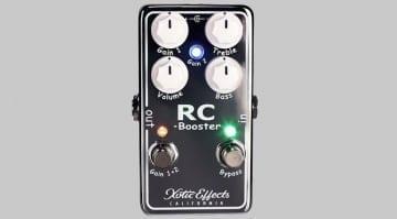 California USA boutique FX Scott Henderson Xotic RC Booster V2 clean boost pedal