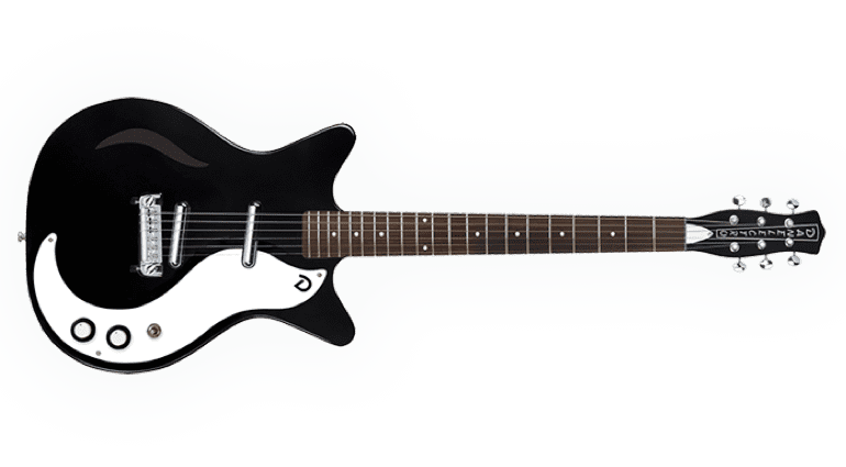 Danelectro 59M Spruce the 'Jimmy Page' guitar