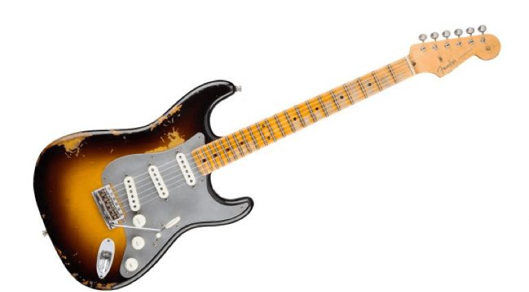 Fender 'Fake Mojo' El Diablo Strat