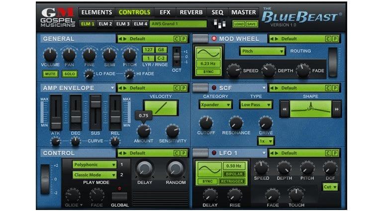 Gospel Musicians Yamaha EX5 Editor