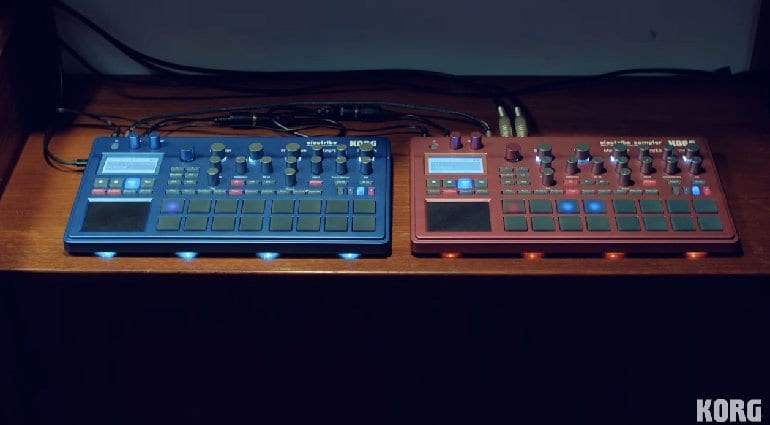 Korg Electribe 2 and 2s