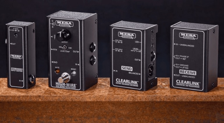 MESA Boogie Clearlink, High-Wire, USA, America, Live, stage, ground, impedance