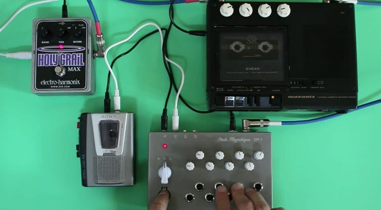 OM-1 Cassette Synthesizer with FX