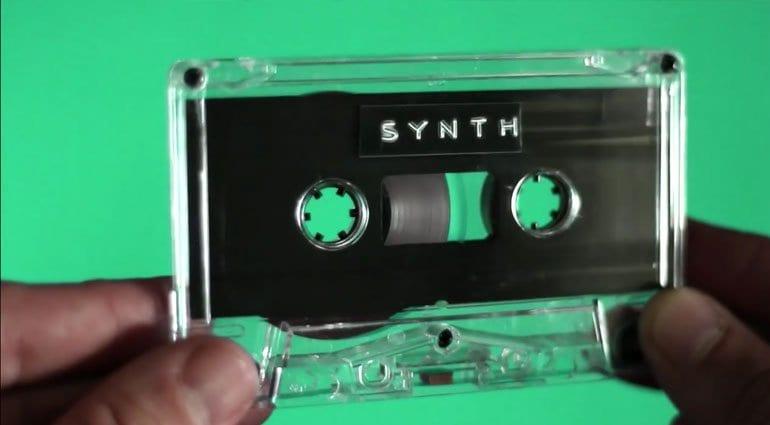 OM-1 Cassette Synthesizer tape