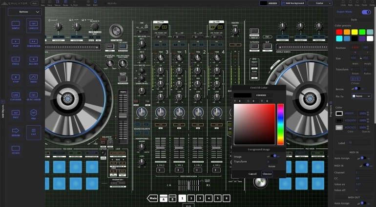 Touch Innovations Emulator 2 Editor