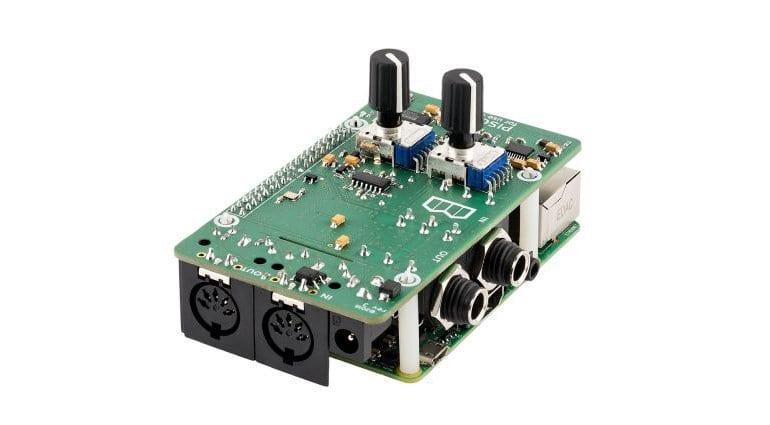 Blokas Pisound Interface