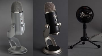 Blue Microphones: Yeti, Yeti Pro and Snowball Studio Series USB Mics