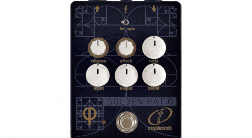 Crazy Tube Circuits Golden Ratio Phi - The perfect Φ Athens Greece Boutique compressor pedal