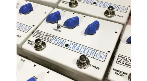 Cusack Pedal Cracker vocal effect preamp /loop pedal