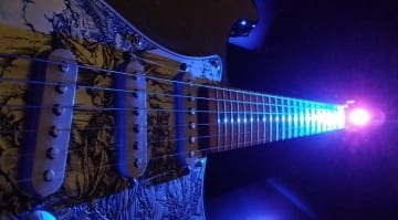 Fret lord Spectrus LED headstock light