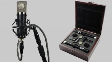 Lauten Audio Series Black LA-220 and LA-120