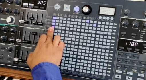 Arturia MatrixBrute teaser video