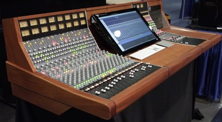 New Daking MKII Recording Console