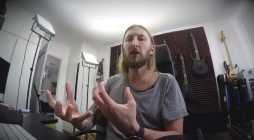Ola Englund Amp test The Haunted Six Feet Under