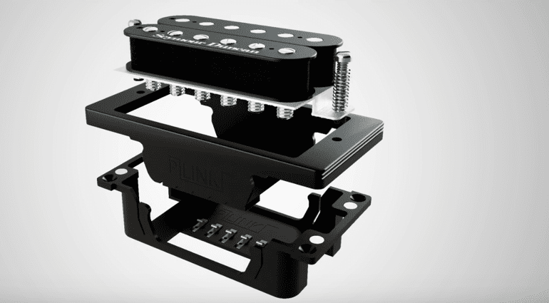 Kickstarter Australia Pratley Guitars P-Link pickup changing system