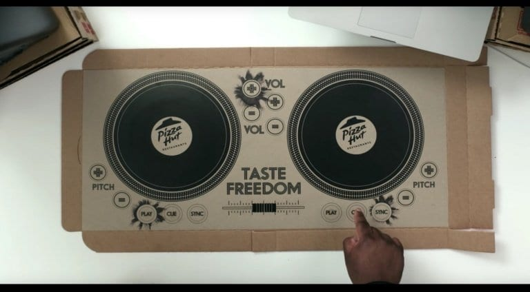 Pizza Hut DJ Controller