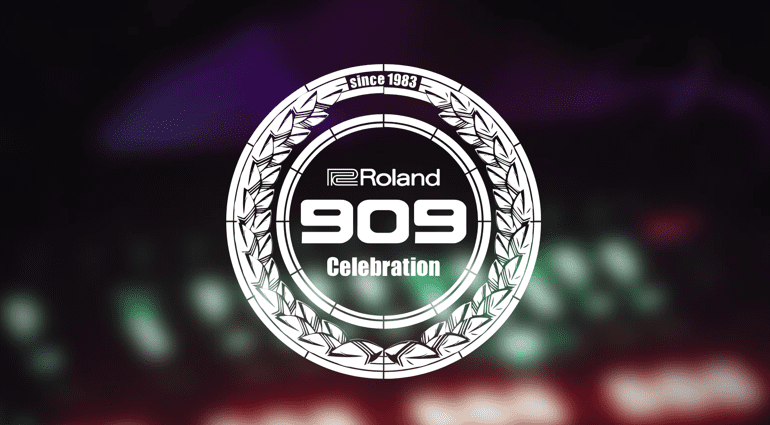 Roland 909 Day celebrating 33 years TR-909