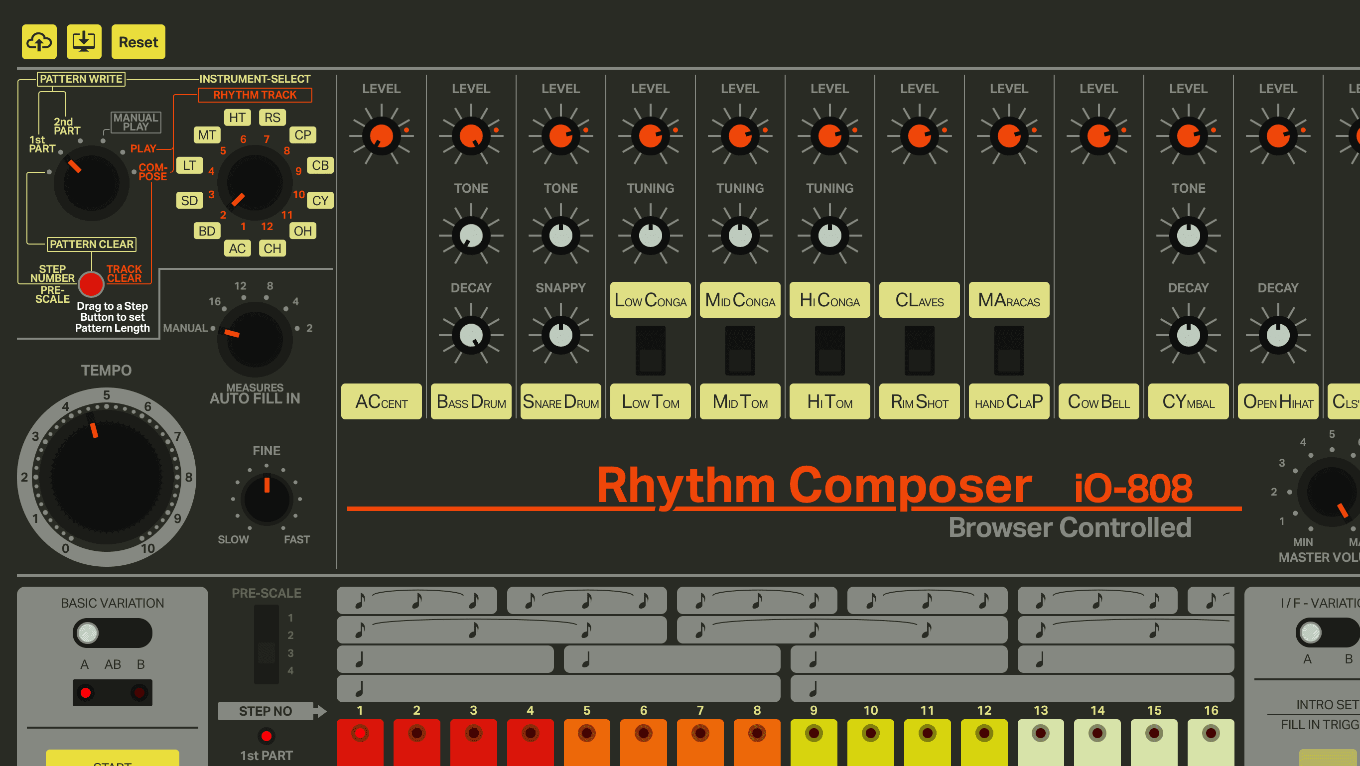 io808: A web-based 808 for your browser! - gearnews com