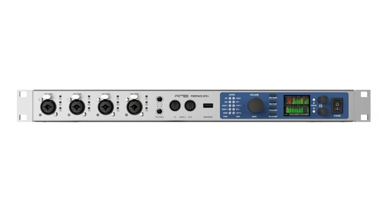 RME Fireface UFX+ front