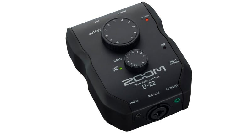 Zoom U-22 Slant Left