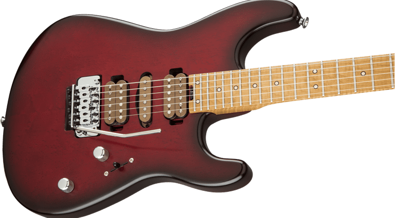 Charvel Guthrie Govan Britannica Red Signature model