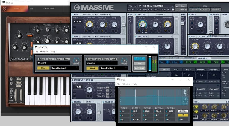 Free and easy VST host vPlayer from Digital Brain - gearnews com