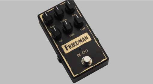 Brown Eye The Friedman BE-OD overdrive pedal
