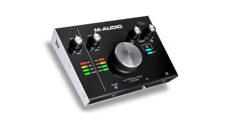 M-Audio M-Track 2X2 spot the difference