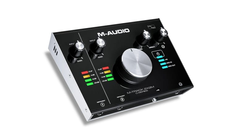 M-Audio M-Track 2X2M spot the difference