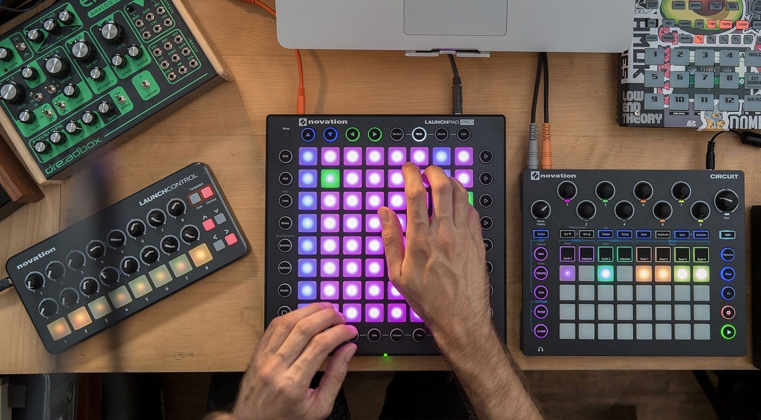 how to force novation circuit firmware update