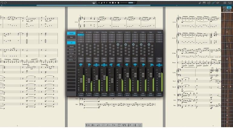 PreSonus Notion 6 with mixer