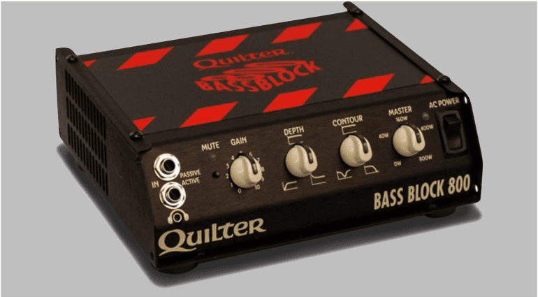 Quilter Bass Block 800 bass amp head